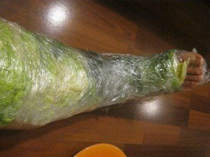 cabbage leaf poultice