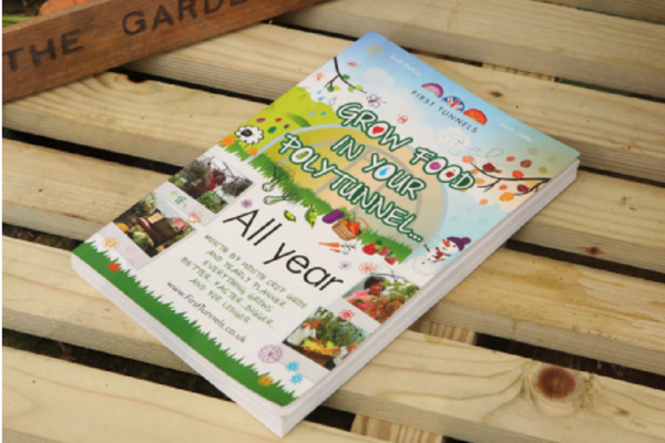 how to grow food in your polytunnel all year book