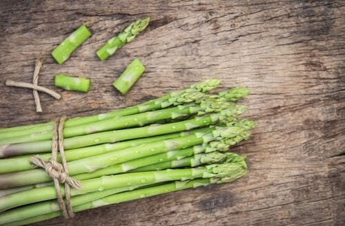 asparagus grown in alkaline soil